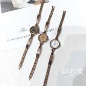 手錶 鍊條手錶女生氣質小巧細帶迷你小清新森女系復古文藝簡約韓版學生 5色