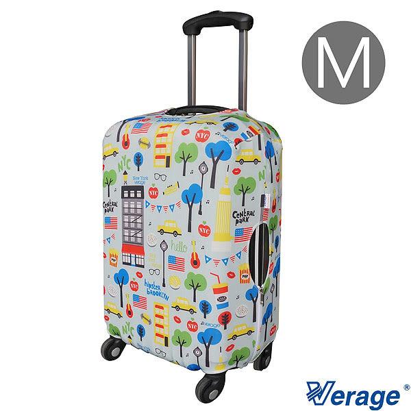 Verage 維麗杰 彈性花樣旅行箱保護套 M (I)