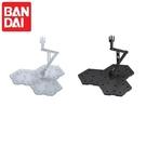 耀您館|日本BANDAI萬代鋼彈模型展示支架ACTION陳列底座BASE 4比例1/144 HG RE MG鋼普拉支撐架