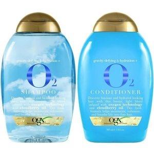 美國Ogx活養與雲莓有機洗髮乳*2+潤髮乳*1