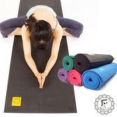 Fun Sport yoga小秘境修練瑜珈墊-6mm-送深藍背袋-PER環保材質-沉穩黑