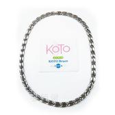 KOTO 純鈦鍺磁石健康項鍊 T-008L (寬版1條) 磁石能量項鍊 鍺鈦首飾  抗磨耐腐蝕
