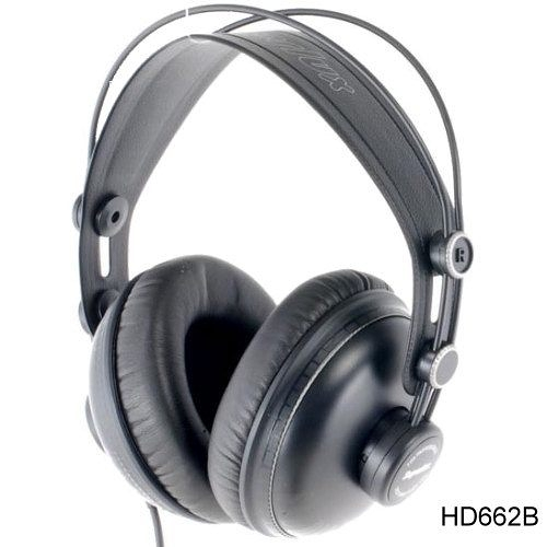 Superlux HD662B 專業監聽耳機 封閉式 耳罩式 頭戴式 公司貨 另有HD662B/HD662F