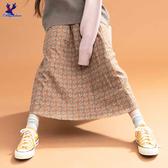 【秋冬降價款】American Bluedeer - 印花磨毛半裙 秋冬新款