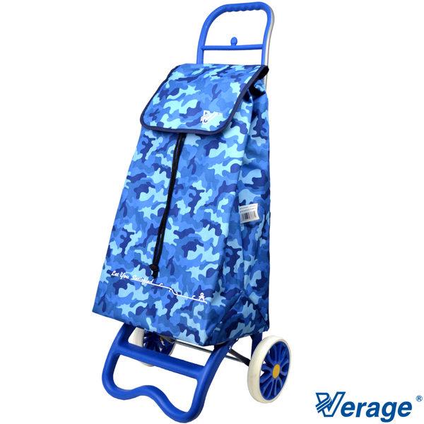 Verage~維麗杰 輕量行動便利購物車(迷彩藍)