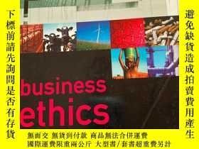 二手書博民逛書店business罕見ethics ANDREW CRANE.DIRK MATTENY164178 外文 外文
