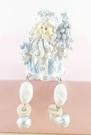 【震撼精品百貨】聖誕節佈置商品-聖誕吊飾-飾品/擺飾-藍銀白色-腳分開