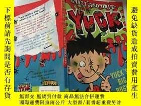 二手書博民逛書店yuck:罕見 討厭 .Y200392