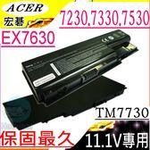 ACER電池-宏碁電池-TRAVELMATE 7230,7330,7530,7530G 7730,7730G,,AS07B61-11.1V ACER筆電電池