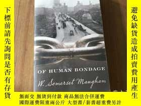 二手書博民逛書店OF罕見HUMAN BONDAGE( D42)Y266787