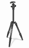 MANFROTTO MKELES5BK-BH 曼富圖 Element 黑色 反折式 小型鋁合金旅行腳架 乘載4KG 【正成公司貨】