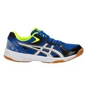 ASICS 亞瑟士 男排羽球鞋 RIVRE CS  (藍白黑) 可當羽球鞋 室內場地適用 TVRA03-400 【胖媛的店】