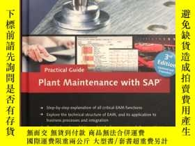 二手書博民逛書店Plant罕見Maintenance with SAP 3rdY