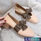 瑪麗珍鞋 單鞋女夏粗跟中跟一腳蹬瑪麗珍豆豆鞋晚晚溫柔仙女新款春 星河光年