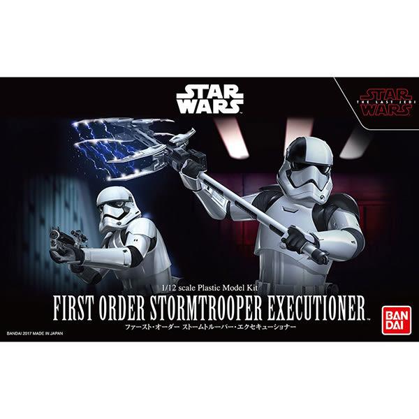 星際大戰 BANDAI 組裝模型 Star Wars 1/12 最後的絕地武士 處刑者第一軍團風暴兵 白兵