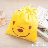 【C款 小熊維尼大臉束口袋】Norns 迪士尼正版授權 拍立得收納包 DISNEY