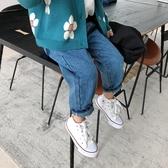 寬鬆百搭兒童薄款長褲時尚褲子女童牛仔褲【聚可愛】