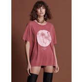 ONETEASPOON  WW  WORN RED PARADISE SANTA FE TEE  T恤-紅(女)