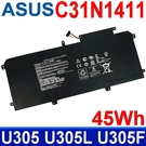 ASUS C31N1411 高品質 電池 ZenBook U305 U305L U305I U305F U305FA U305CA U305UA UX305 UX305C UX305CA UX305F UX305FA UX305LA
