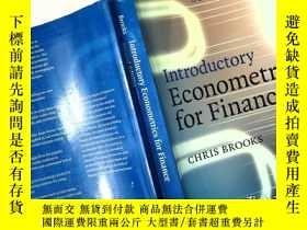 二手書博民逛書店Introductory罕見Econometrics for FinanceY253683 Chris Bro