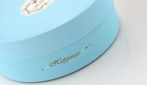 16CM經典藍色 附棉紙底板 6吋  乳酪盒 起司蛋糕盒 烘焙紙盒 外帶盒 禮盒 包裝盒 派盒C001