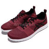 【六折特賣】Asics 慢跑鞋 Kanmei 紫紅 暗紅 黑 輕量 運動鞋 女鞋 【PUMP306】 T7H1N2590