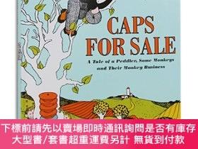 二手書博民逛書店Caps罕見for Sale:A Tale of a Peddler, Some Monkeys and Thei