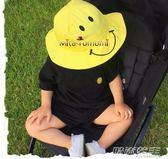 兒童季寶寶遮陽帽嬰兒帽子潮男女童防曬帽漁夫帽盆帽太陽帽     時尚教主