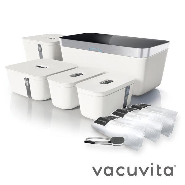 Vacuvita 真空醃製保鮮機 (全配白)