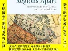 二手書博民逛書店【罕見】Regions Apart: The Four Soci