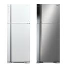 留言加碼折扣享優惠限區運送基本安裝日立 HITACHI 460公升變頻雙門冰箱 RV469