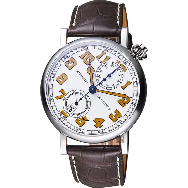 Longines 浪琴 AVIGATION TYPE A-7 1935 復刻機械腕錶 L28124232