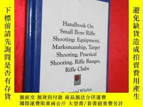 二手書博民逛書店Handbook罕見on Small Bore Rifle Sh