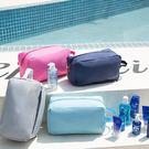 ✭米菈生活館✭【G23】乾濕分離手提包 多用途 大容量 收納 化妝 旅行 出國 健身 游泳 盥洗 沙灘