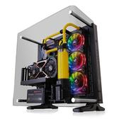 Thermaltake 曜越  Core P3 TG Curved Edition 90度彎角強化玻璃黑色(CA-1G4-00M1WN-05) ATX電腦機殼