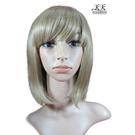 【妹妹頭.齊瀏海短髮造型】全頂假髮(化纖)510L (#27/613) [31142]