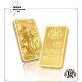 黃金條塊-龍年伍台錢-18.75g【煌隆】(重5.00錢)