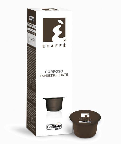 Caffitaly膠囊咖啡[頂級Black Jack重焙黑咖啡Corposo] 伯朗咖啡膠囊 燦坤Tiziano 聲寶膠囊咖啡機適用 EZcap