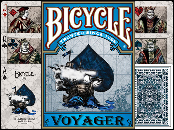 【USPCC 撲克】Bicycle Voyager Playing Card 航海家單車撲克