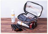 防水透明手提化妝包大容量簡約小號便攜化妝品包洗漱包