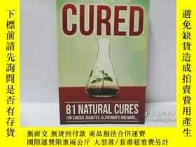 二手書博民逛書店cured罕見81 natural cures for canc