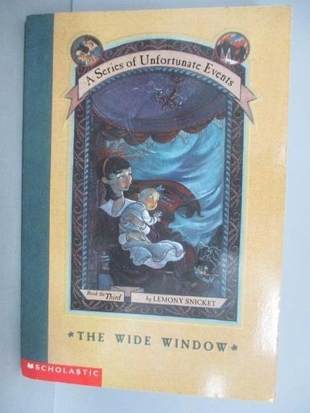 【書寶二手書T1/原文小說_LRT】A Series of Unfortunate Events-The Wide Window
