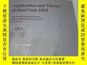 二手書博民逛書店Lecture罕見Notes in Computer Science 691 APPlication and T