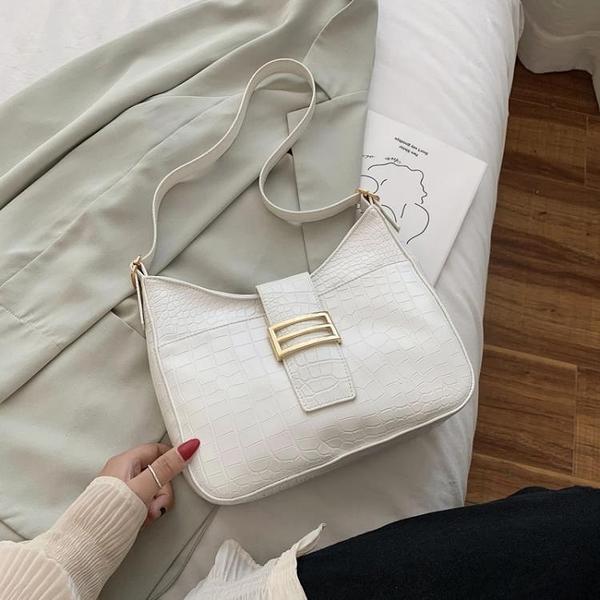 限購特價 網紅小包包女包新款時尚流行女士單肩法式腋下包百搭手拎包