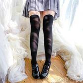 絲襪 白色過膝襪高筒襪可愛領域天鵝絨日系絲襪白絲黑絲粉色 寶貝計畫