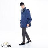 【MORR】Metropolis機能防水外套【午夜藍】登山/防水/透濕/透氣/登山/通勤/機車