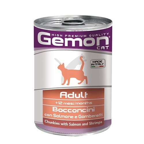 *WANG*【24罐組】義大利GEMON《啟蒙主食貓罐頭》415g/罐 四種口味可選 成貓及高齡貓適用