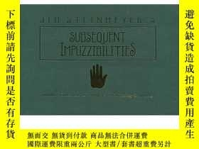 二手書博民逛書店Subsequent罕見Impuzzibilities by Jim Steinmeyer - BookY39