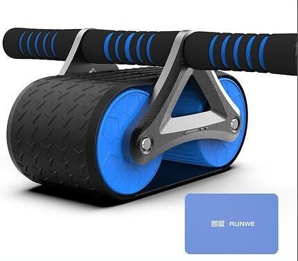 健腹輪 自動回彈健腹輪男士家用健身器材腹肌輪女初學者減肚子運動【快速出貨八折優惠】