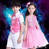 六一兒童節合唱團演出服裝蓬蓬紗裙